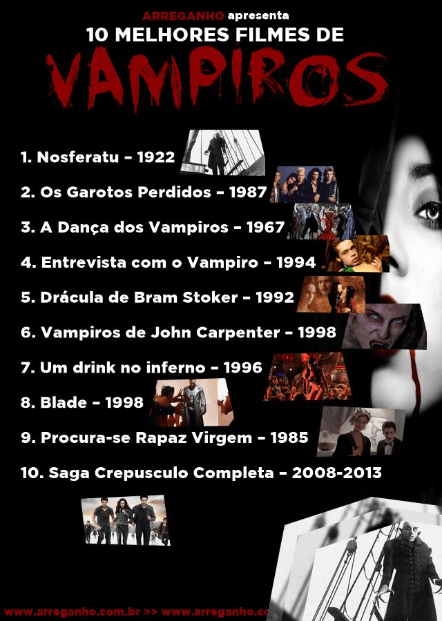 Top 10 melhores filmes de vampiros de todos os tempos
