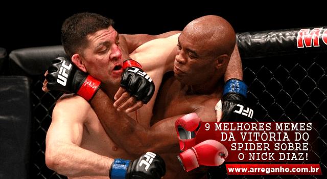 9 Melhores memes da vitória do Spider sobre o Nick Diaz