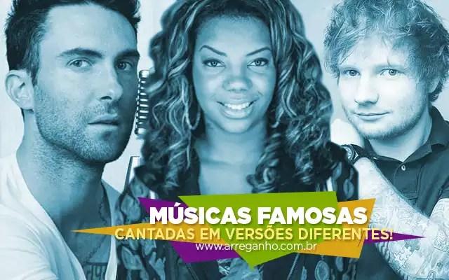 Músicas famosas cantadas em versões diferentes #5