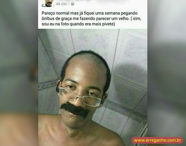 Pareço normal mas…