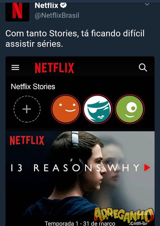 NetflixBrasil, a melhor conta do twitter