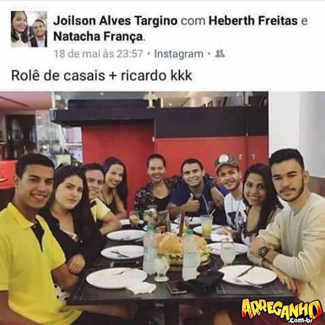 Dica do dia: não seja o Ricardo