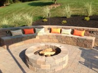 Retaining Wall Fire Pit - Fire Pit Ideas