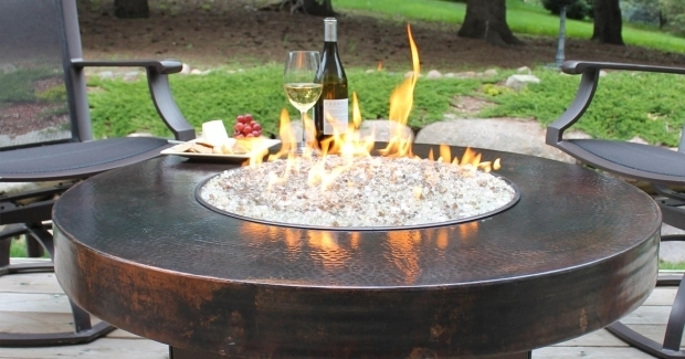 Propane Fire Pits With Glass Rocks Fire Pit Ideas