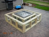 How To Build Your Own Gas Fire Pit. Diy Natural Gas Fire ...