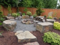Pea Gravel Fire Pit - Fire Pit Ideas