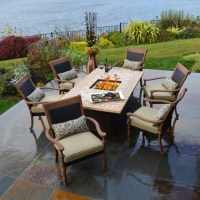 Patio Sets With Fire Pit Table - Fire Pit Ideas