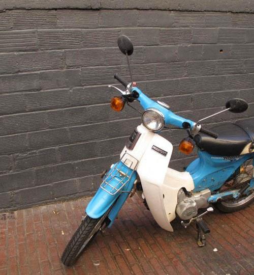 Scooter in Belltown, Seattle WA