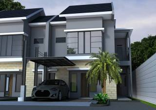 Desain Renovasi Rumah Bu Nilam Premier Ciracas