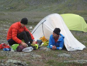 Tentcamp Kiruna Extreme 2014