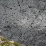Blick vom Gipfel des Seehorn in den Karst