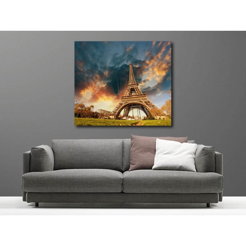 Tableaux toile déco Tour Eiffel 51220213(22) - Art Déco Stickers