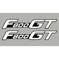 2 aufkleber F800GT BMW