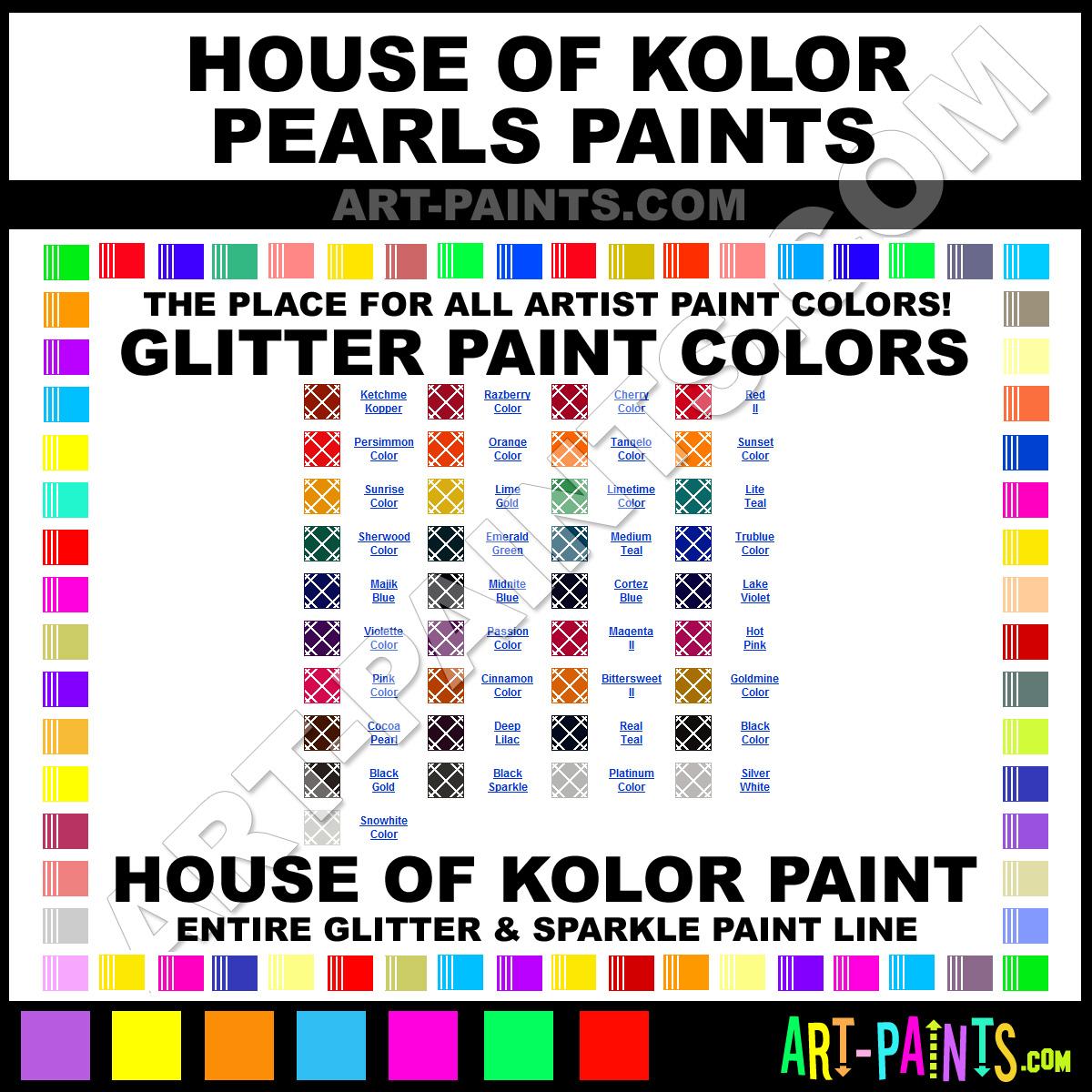 Candy Colors Charts Paint Paint Color Chart Paint Colors Color Charts