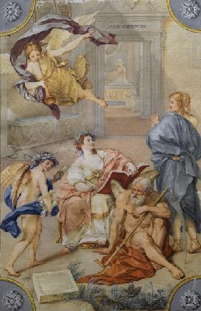 Fall Ceiling Wallpaper Fall Of Man And Expulsion From The Parad Michelangelo