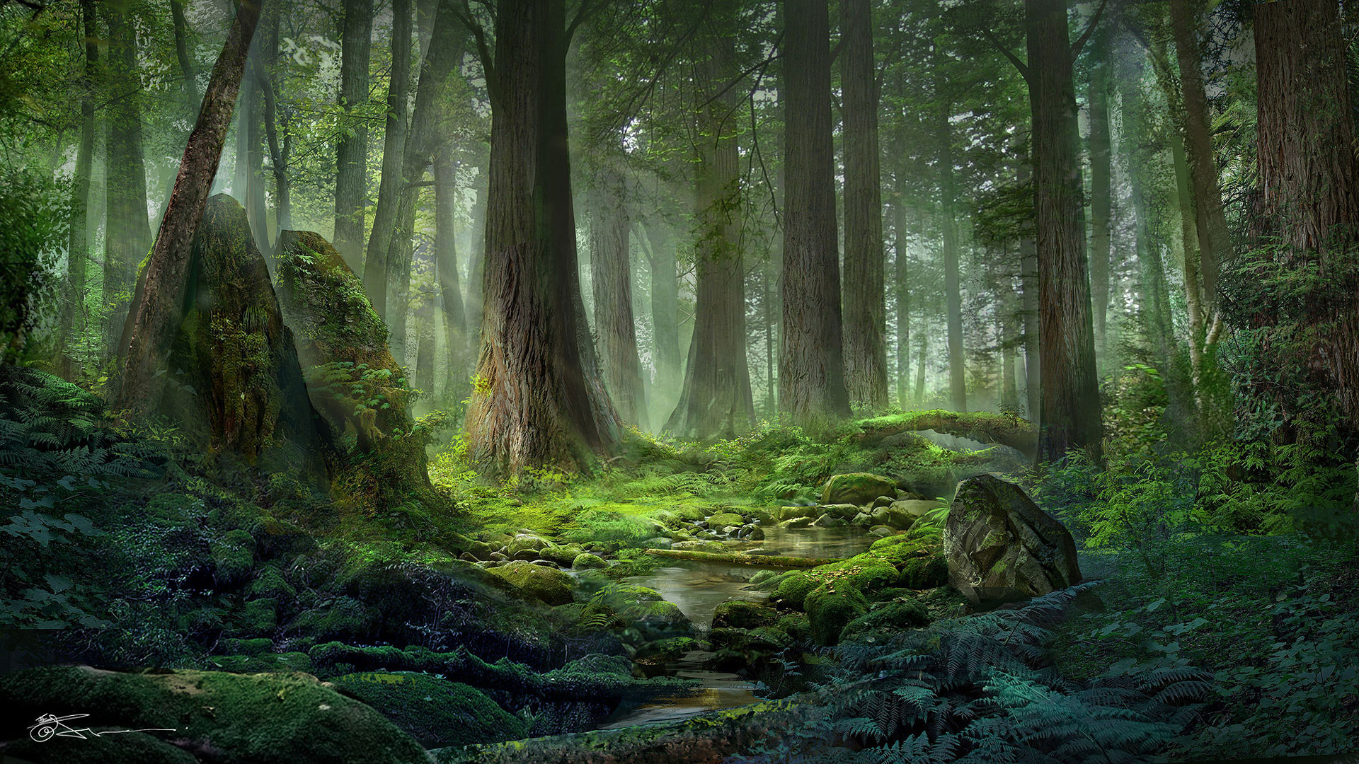 Very Beautiful Wallpaper 3d Stunning Illustrations By Jeremy Chong Art Spire
