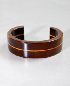 bracciale gemini in legno fatto a mano - shop Artamin