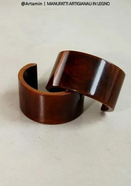 bracciale Vela in legno, fatto a mano - shop Artamin