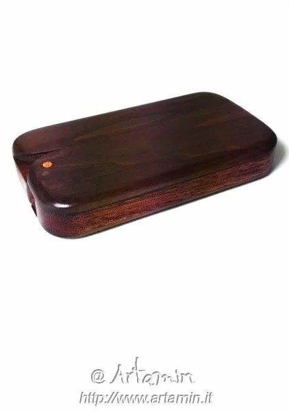Minimal: portafoglio in legno - shop Artamin
