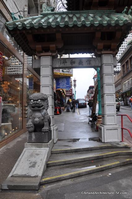 Chinatown Gateway Arch Public Art And Architecture
