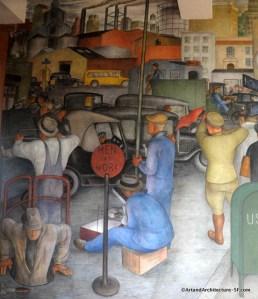 Telegraph Hill - Coit Tower Murals