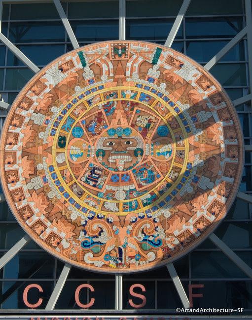 Art Calendar San Francisco : Ccsf mission campus mayan calendar public art and