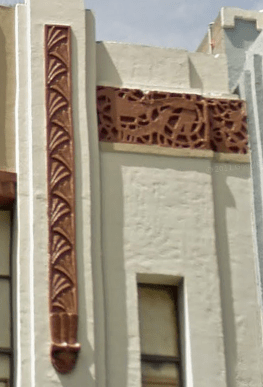 Ornamentation on one of the fil vaults