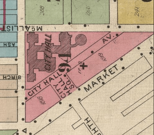 The original address of the Methodist Book Concern was 5 City Hall Avenue