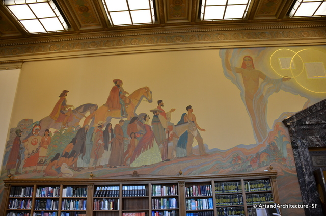 Maynard dixon and a pageant of traditions public art and for California mural