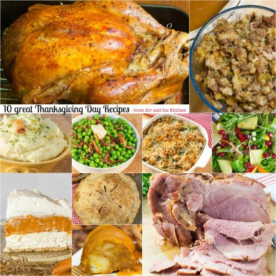 10 Great Thanksgiving Day Recipes   Art and the Kitchen