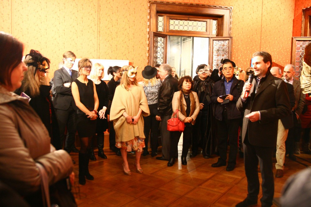 Great success at the Opening of the OpenArtCode contemporary art exhibition in Venice. (photos exclusive to Art&Artworks)