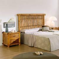 Tte de lit bambou pour 160 #5829
