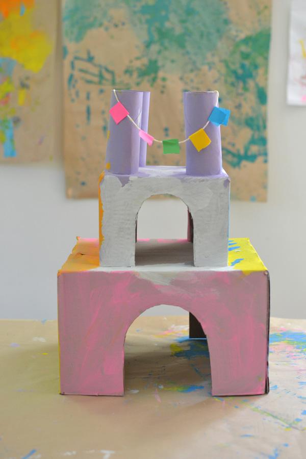 Princess Castles From Shoeboxes Artbar