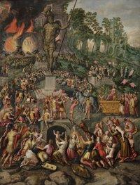 Pieter Aertsen: The Three Hebrews in the Fiery Furnace