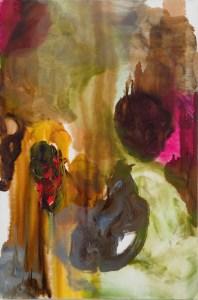 Richard Staub; Grey Top; 2009, oil on canvas, 36 x 24 inches