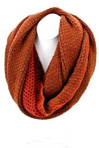 Winter Knit Infinity Scarf - Scarves