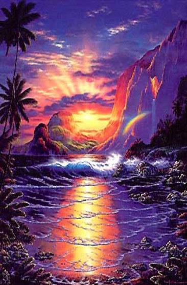 Wallpaper Dolphin 3d Heaven On Earth By Christian Riese Lassen
