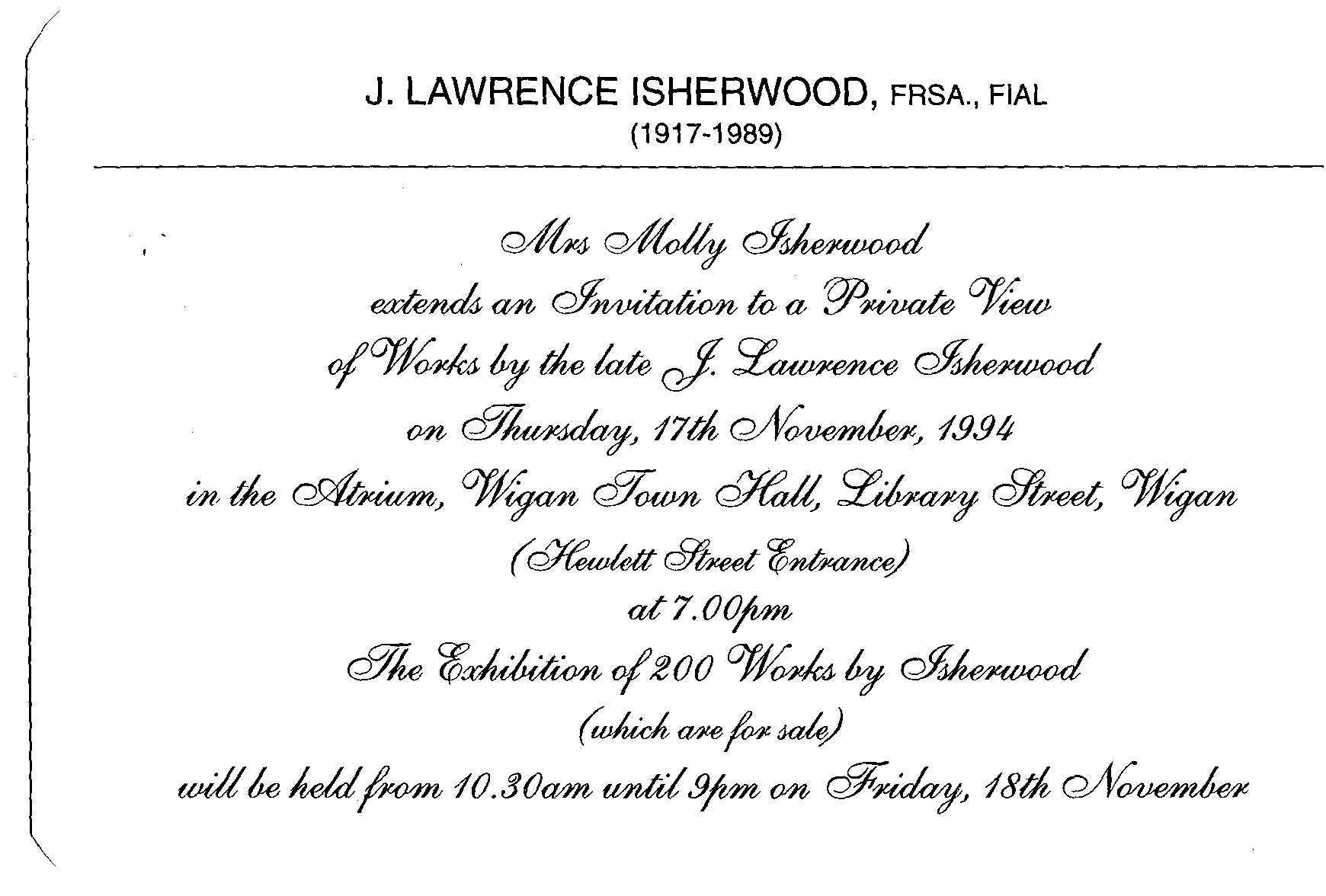 Molly Isherwood Art By Isherwood