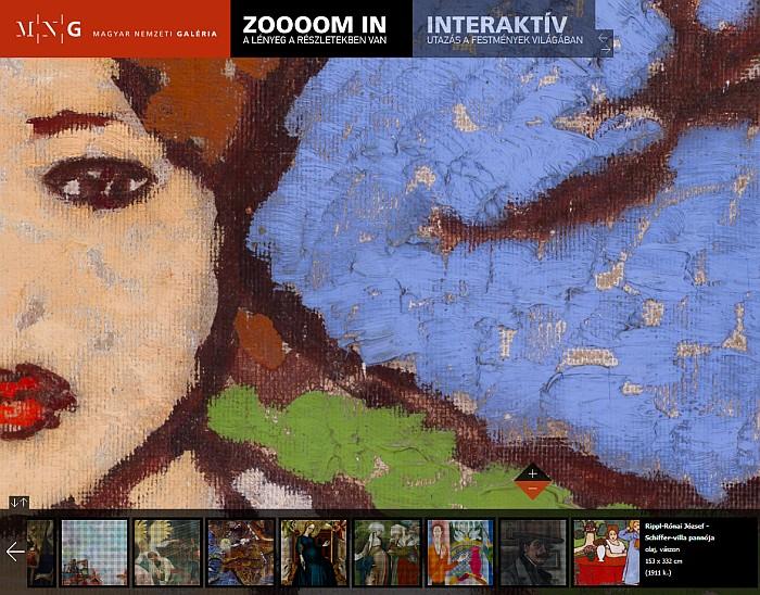 MNG Zoooom in – festmények gigapixeles felbontásban | weboldal keszites tutorial tipografia software kreativ friss grafika illusztracio friss foto film  | webdesign honlapkészítés festmény