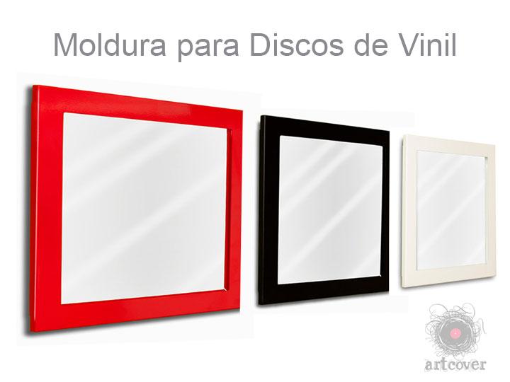 Moldura Para Disco Vinil Cores 01