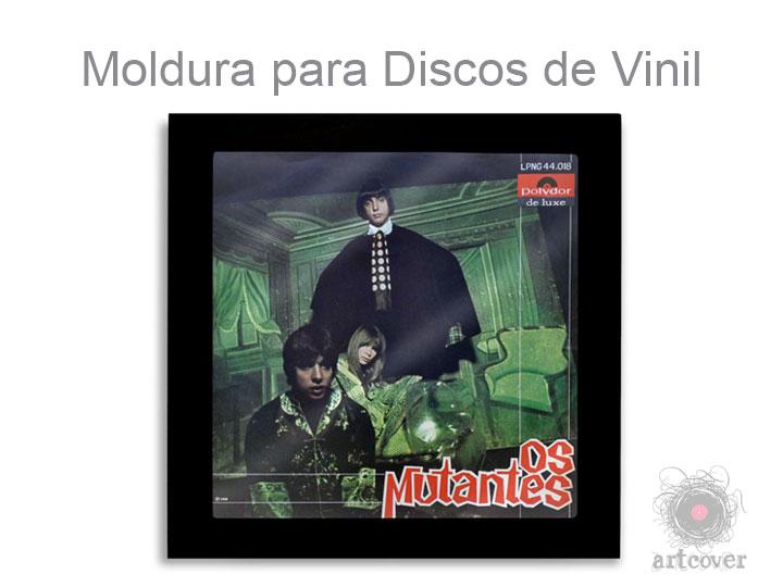 Moldura Para Disco Vinil Preto 04