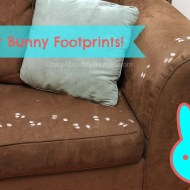 Easter Bunny Footprints Tutorial