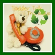 Toddler Talk Thursday: Eco-Friendly Toddlers {Happy Earth Day!}
