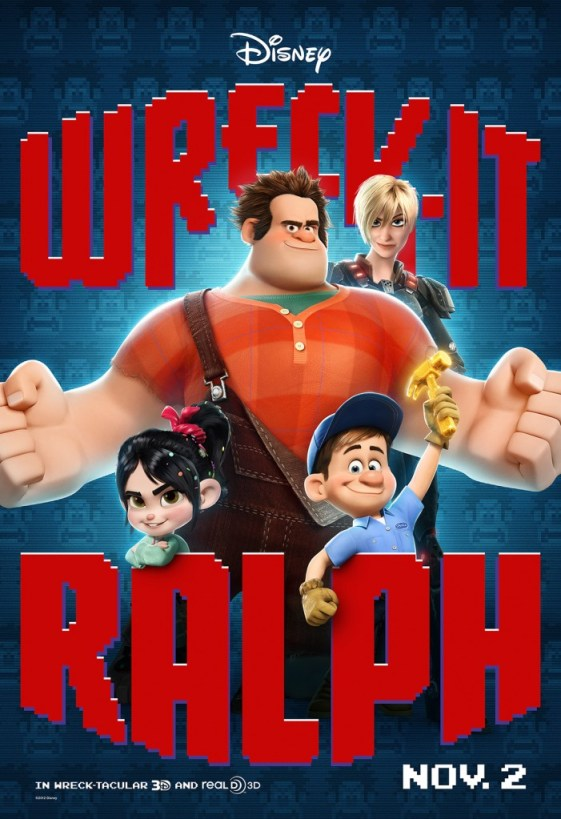 Wreck It Ralph Character Poster