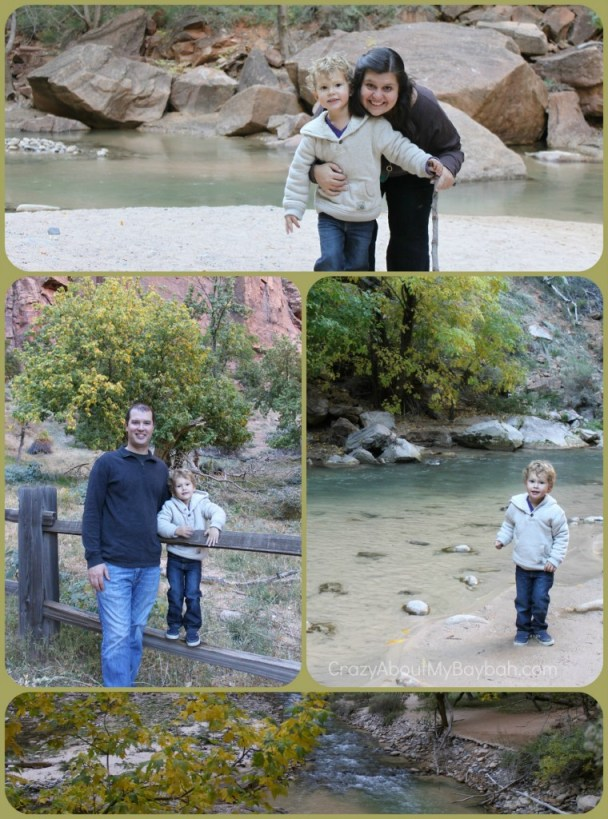 Family trip to Zion