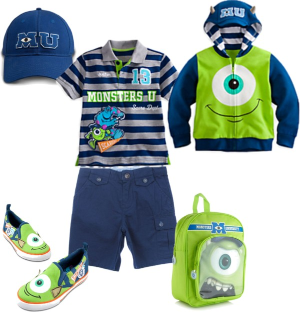 Monsters University Back To School Clothes for Boys #MonstersUPremiere