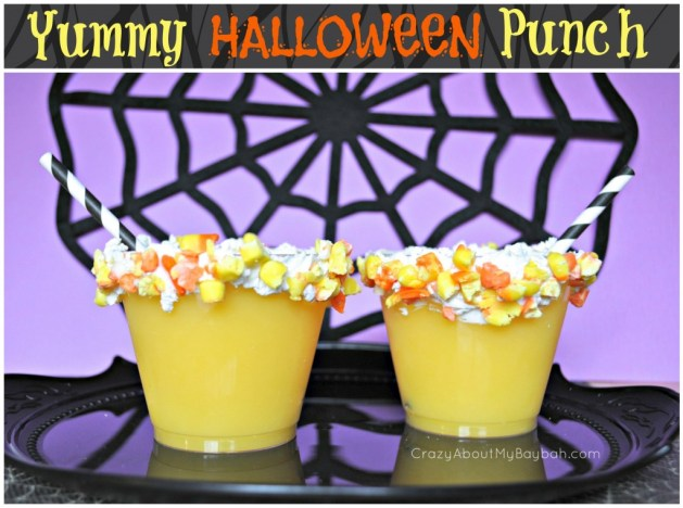 Yummy Halloween Punch Recipe #Recipe #Halloween