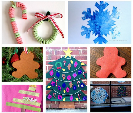 Christmas Crafts Week 2 25 Winter and Christmas Crafts for Kids | Week 3