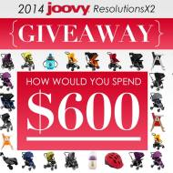 Joovy 2014 ResolutionsX2 Giveaway #Joovy2014ResolutionsX2