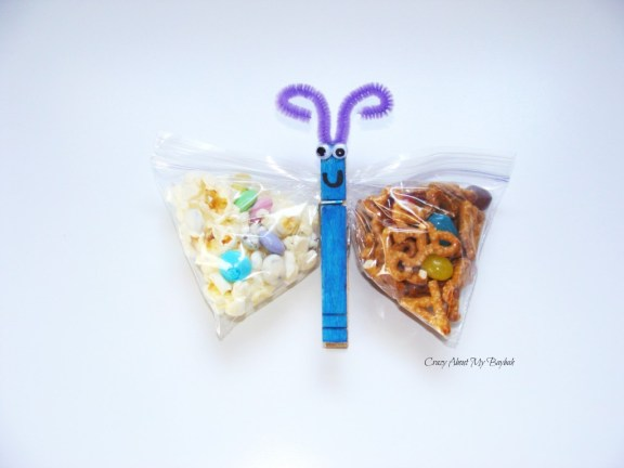 Butterfly Snack Bags and Craft